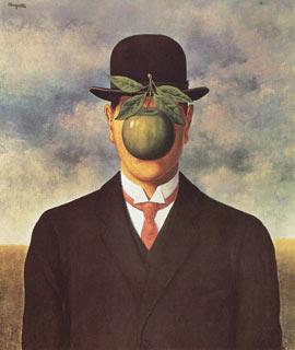 Lien 17 - Tableau chapeau melon pomme verte ...